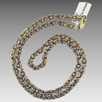 Victorian 14K Gold Chain