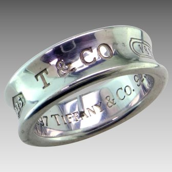 Tiffany 1837 Sterling Band