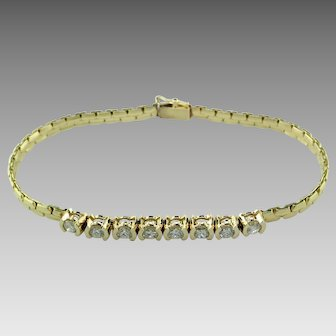 1 ct tw Diamond 14K Bracelet