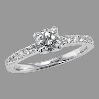 18K White Gold .45 ct. Ring