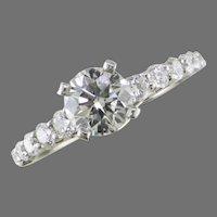 .76 ct. White Gold Diamond Ring