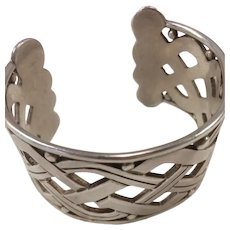 Hector Aguilar Sterling Silver (940) Cuff Bracelet