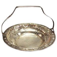 Sterling Silver Alvin Gift Line Basket ca 1930
