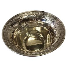 Sterling Silver Alvin Gift Line Mayonnaise Bowl