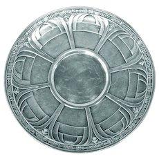 Sterling Silver Alvin Gift Line Sandwich Plate/Tray ca 1930