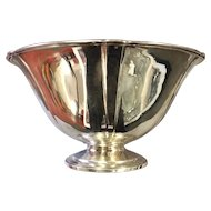 Sterling Silver Arthur Stone Hand Raised Centerpiece Bowl