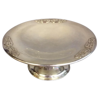 Carl Poul Petersen Handmade Sterling Compote/Tazza