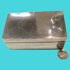 Fredrick (Fred) Davis Sterling Silver Small Jewelry Box