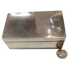 Fredrick (Fred) Davis Sterling Silver Small Jewelry Box