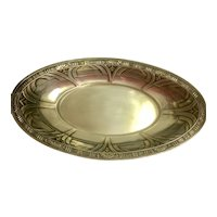 Sterling Silver Alvin Gift Line Bread Bowl/Tray: Egyptian