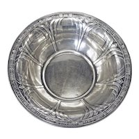 Sterling Silver Alvin Gift Line Centerpiece Bowl ca 1930