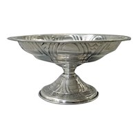 Sterling Silver Alvin Gift Line Low Compote ca 1930