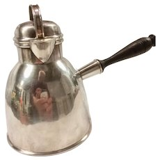 Sterling Silver Hot Milk/Water Pot