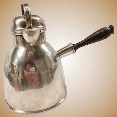 Sterling Silver Hot Milk/Water Pot