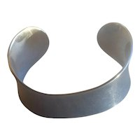 Georg Jensen Sterling Silver Cuff Bracelet #23 by Ove Wendt