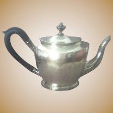 18th Century Coin Silver Tea Pot by Joseph Richardson of Philadelphia