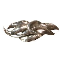 Peer Smed Sterling Silver Lily Brooch/Pin