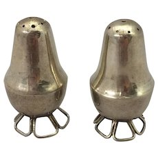 William Spratling Sterling Silver Shakers, pair