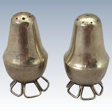 William Spratling Sterling Silver Shakers, pair