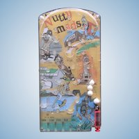MARX 1962 Nutty Mad, Weird-OH, Rat Fink Bagatelle Pinball Game