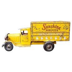 "Metal Masters 1932 ""Sunshine Biscuits"" pressed steel Truck"