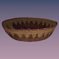Early Native American Navajo Wedding Basket
