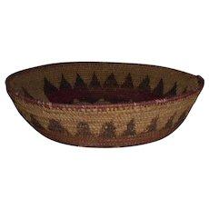 Early Native American Navajo Wedding Basket