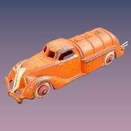 "Hubley Tanker Truck 5-1/2"" long 1930's Pre-War Cast Iron  Great condition!"