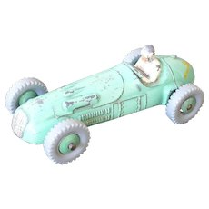 """Race Car Dinky Toys #023 """"H.W.M. Racer"""" Late 1930's Great condition/complete"""