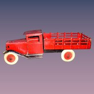 Wyandotte early 1930's Stake Bed Dump Truck