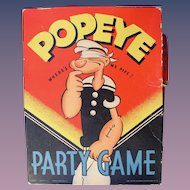 POPEYE 1937 Party Game in original box