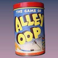 ALLEY OOP Comic Strip 1937 Prehistoric Caveman Game