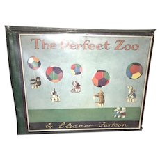 Rare The Perfect Zoo Eleanor Farjeon Steiff Teddy Bear 1929