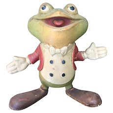 Froggy the Gremlin from Buster Brown 1948 Remple Squeeze Toy