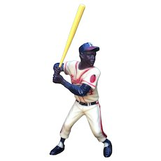 Hank Aaron 1950's Hartland Plastics Baseball Figure Complete