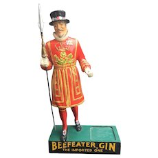 Beefeater Gin 1950's Large Composition Store Display Figure