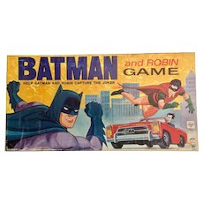 "Batman 1965 ""Help Batman & Robin capture the Joker"" Board Game"