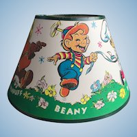 Beany & Cecil TV Show 1962 full color Lampshade Un-used condition