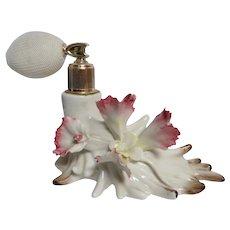 Vintage Capodimonte Atomizer   Perfume   Vintage   Hand Painted