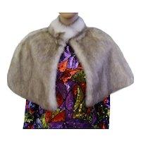 1990s Brown faux fur bridal wrap, Wedding Fur shrug, Effeci Brown Fur Wrap, Bridal Faux Fur Stole Fur Shawl