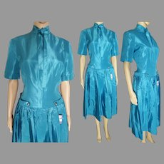 "1940s Dress | ""Bonny-Lee"" 