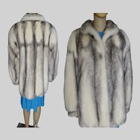 Real Fur Coat | Cross Mink Fur Coat | Real Mink Fur Coat | Designer Mink