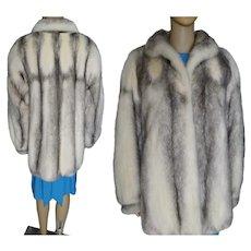 Real Fur Coat | Cross Mink Fur Coat | Real Mink Fur Coat | Designer Mink