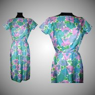 Vintage 1950s Dress  .  Tori Richard  .  Honolulu Couture