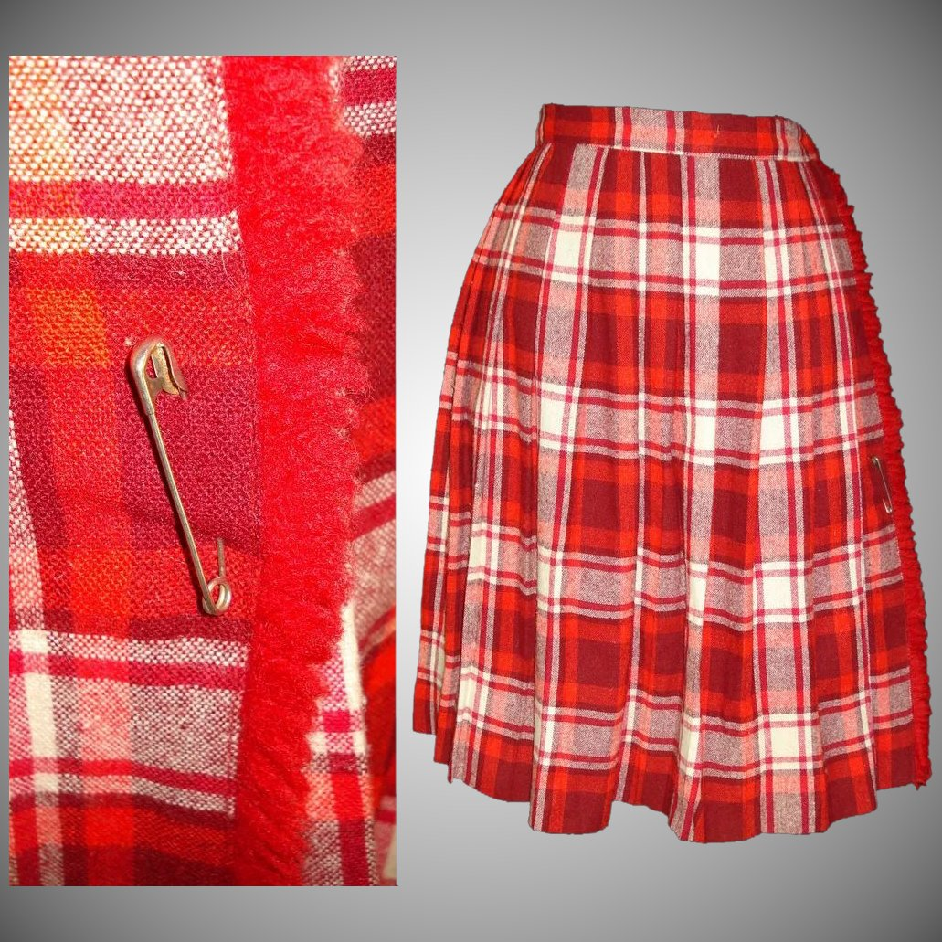 1950s skirt red wool timeless traveling vintage for 10 river terrace new york ny 10282