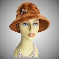 High Fashion 1960s Hat . Hollywood . Garden Party . Couture Mad Men Rockabilly Garden Party Femme Fatale