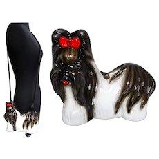 Timmy Woods Handbag/Shih Tzu Dog Show Purse//Shoulder Bag//Dog//Signed// Shih Tzu//Designer//
