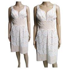 Vintage 1950s Dress//50s Dress//Designer//Lilli Diamond //New Look//Mod//Wiggle//Party Dress//Rockabilly//Cocktail Dress