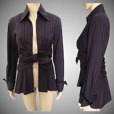 Vintage Jacket | Colorful Jacket | NOS Jacket | Femme Fatale | Tailored | Fun |