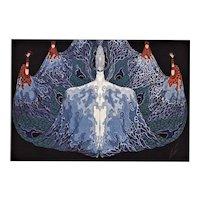 Matted Art Deco Print-L'Ocean-Erté